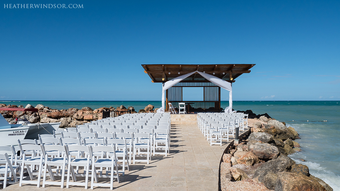 Royalton White Sands Jamaica Wedding Chanell Andre